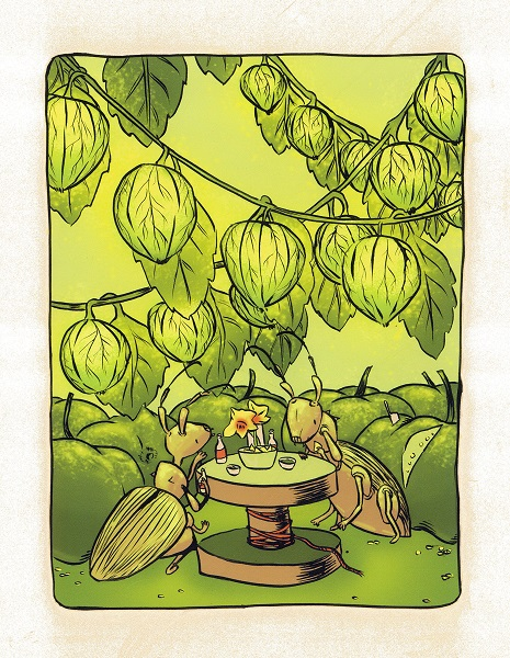 Tepehuan Tomatillo by Nicole Ortiz