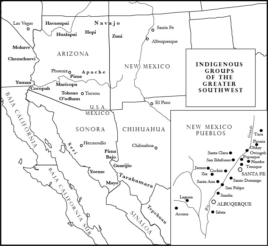Native SeedsSEARCH Native American Seed Request - Map of native american tribes in arizona