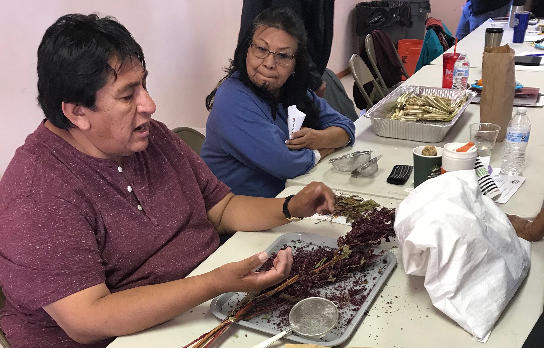 Seed Keeper Workshop at Hopi: Processing Amaranth
