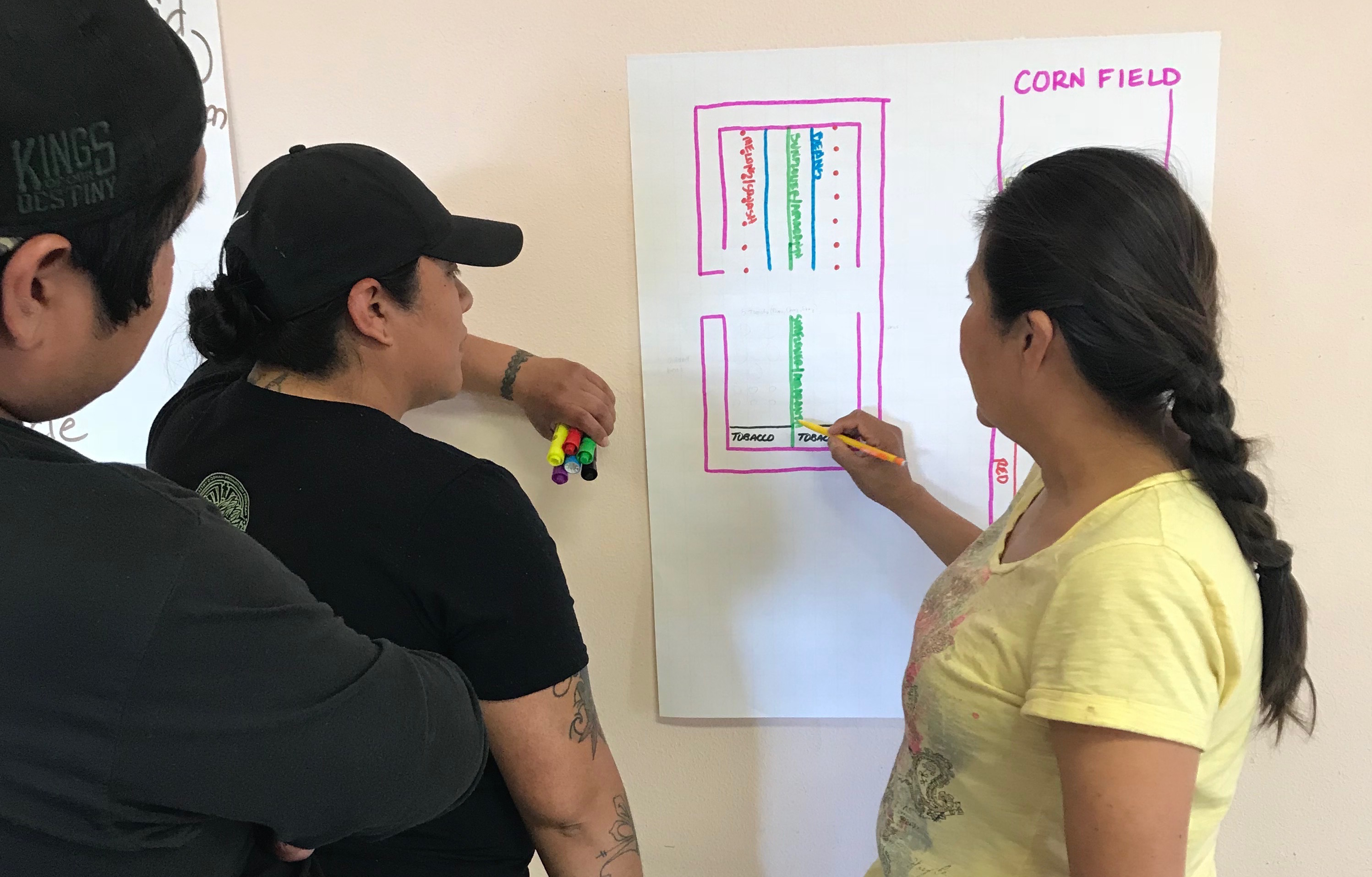 Seed Keeper Workshop at Hopi: Planning for Seed Saving